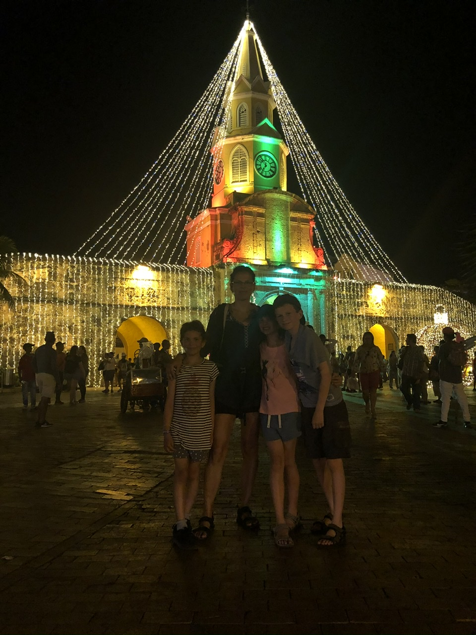 Christmas Lights in Cartagena